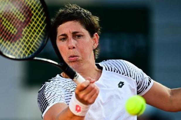 Roland Garros - Kankeroverlever Suarez Navarro strandt in eerste ronde