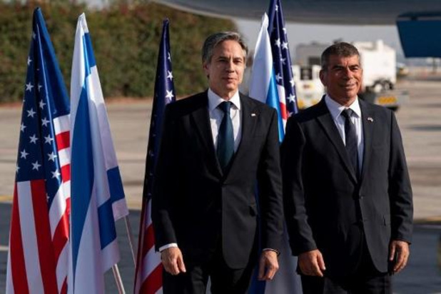 Onrust Midden-Oosten: VS-minister Blinken aangekomen in Tel Aviv