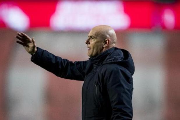 KV Oostende zet trainer Van Wijk alweer op straat
