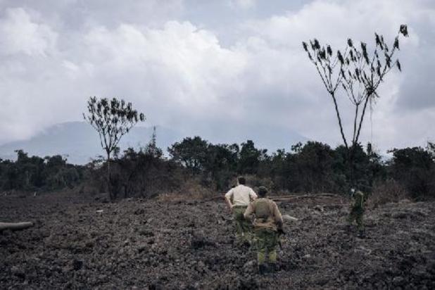 Des scientifiques de l'AfricaMuseum surveillent l'activité volcanique