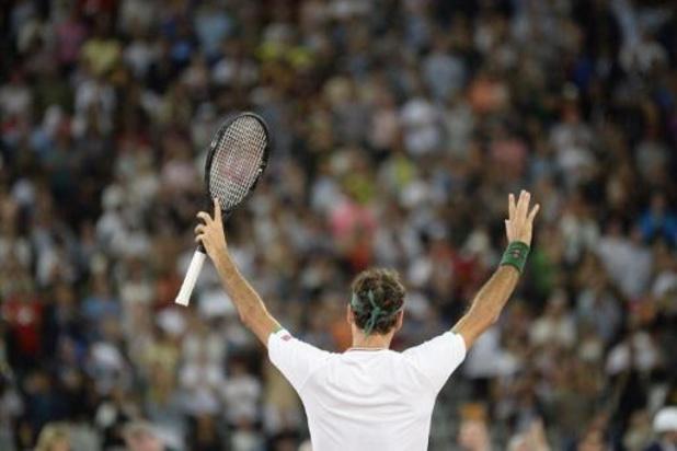 Federer en Nadal krijgen recordaantal toeschouwers bijeen in wedstrijd voor goede doel