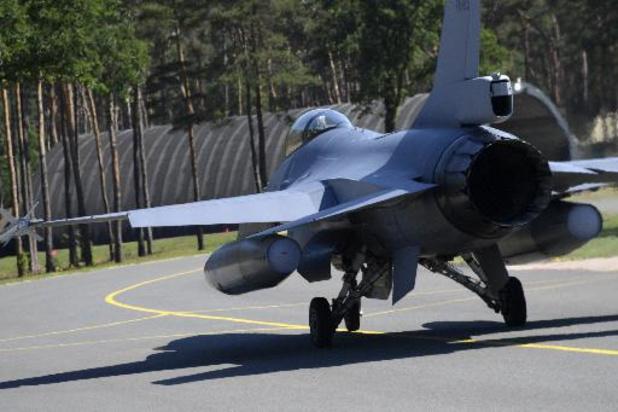 Piloot Belgische F-16 in Leeuwarden liep beenbreuk op
