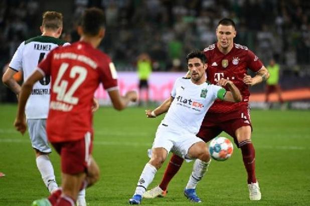 Bundesliga - Le Bayern accroché par Mönchengladbach en ouverture de la Bundesliga