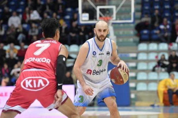 Mons connaît ses adversaires s'il ne se qualifie pas pour la Basketball Champions League