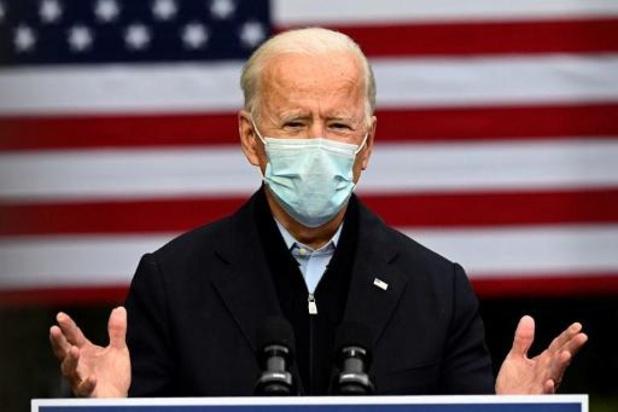 Amerikaanse presidentsverkiezingen - Biden test opnieuw negatief op corona