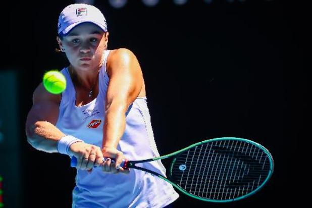 WTA Miami - Barty vient à bout de Sabalenka et est la première demi-finaliste