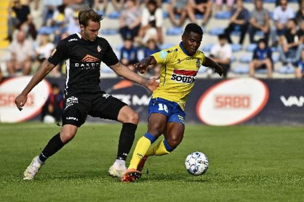 1B Pro League - Westerlo rattrape deux buts de retard contre Deinze et reste en tête de la D1B