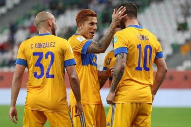 WK voor clubs - Tigres verslaat Palmeiras en plaatst zich als eerste voor de finale