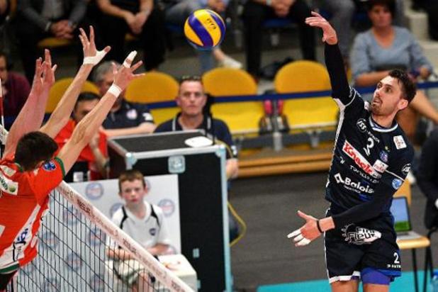 Ligue des champions de volley - Maaseik débute par une victoire (2-3) à Ankara, Roulers s'impose 0-3 à Friedrichshafen