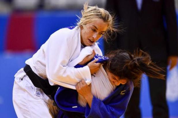 Charline Van Snick en Jorre Verstraeten kampen om brons