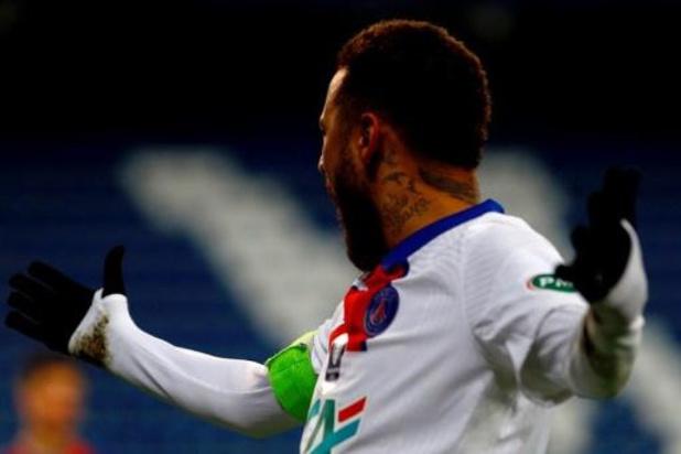 PSG zonder Neymar in CL-clash tegen FC Barcelona