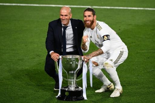 """Voorzitter Real Madrid: """"Ramos blijft voor de rest van z'n leven bij Madrid"""""""