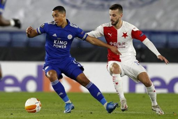 Europa League - Leicester met Tielemans uit Europa gewipt door Slavia Praag