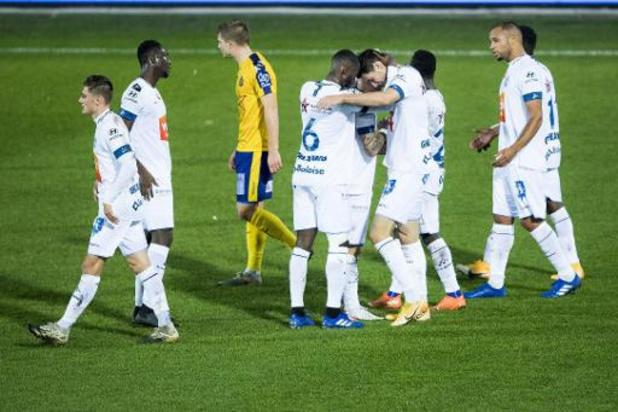 Jupiler Pro League - AA Gent klaart klus tegen Waasland-Beveren in de eerste helft, Yaremchuk scoort hattrick
