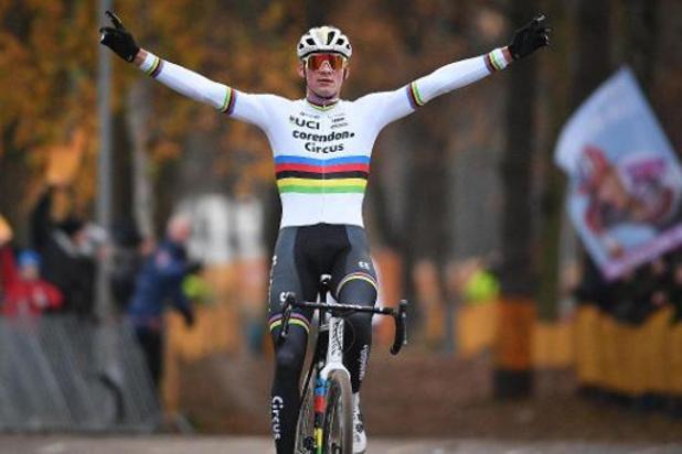 Van der Poel knoopt terug aan met overwinning in Overijse, Worst wint bij de vrouwen