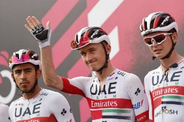 Dombrowski wint 4e Giro-rit, Evenepoel verliest 11 seconden