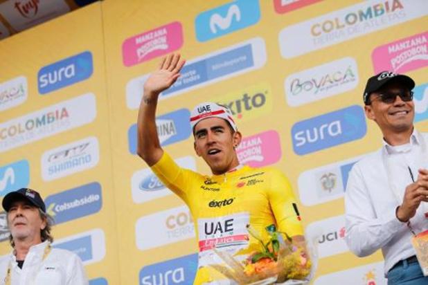 Tour de Colombie - Juan Sebastian Molano enlève la 5e étape, Sergio Higuita reste leader