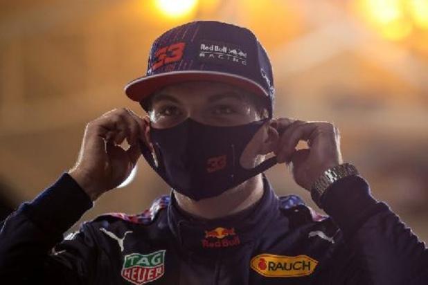 """F1 - Bahreïn - """"Une voiture agréable à conduire"""", se réjouit Max Verstappen, en pole du 1er GP de 2021"""