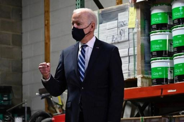 Première conférence de presse Joe Biden le 25 mars