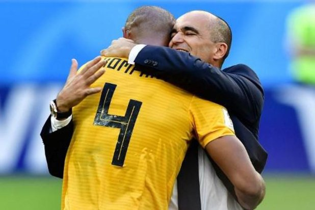 """Roberto Martinez """"twijfelt er niet aan dat Kompany een goede trainer wordt"""""""