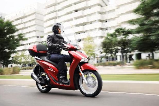 Honda SH125i gaat premium