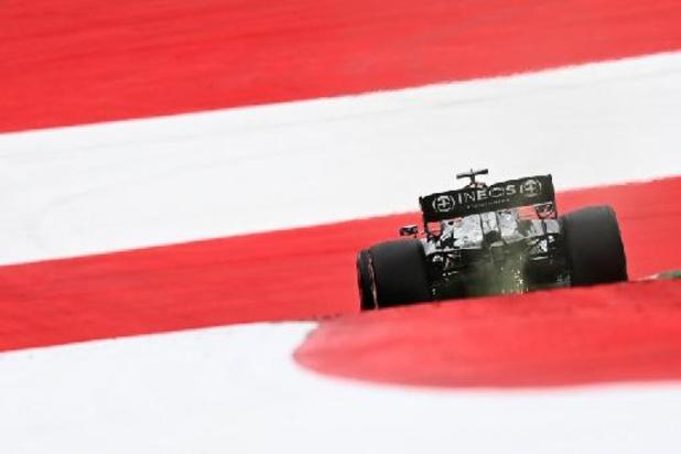 Hamilton répond à Verstappen aux essais libres 2 en Autriche