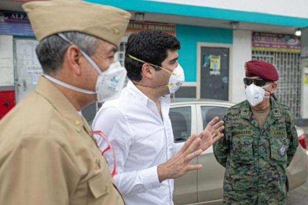 Coronavirus - Ecuadoraanse vicepresident excuseert zich voor lijken op straat