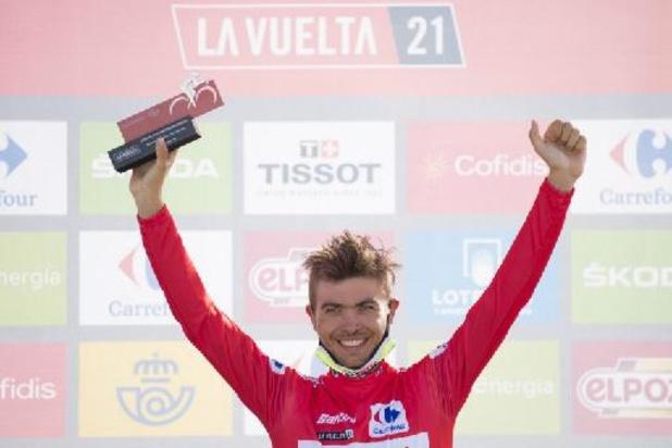 """Odd Christian Eiking: """"J'étais soulagé à la fin"""" de la 15e étape du Tour d'Espagne"""