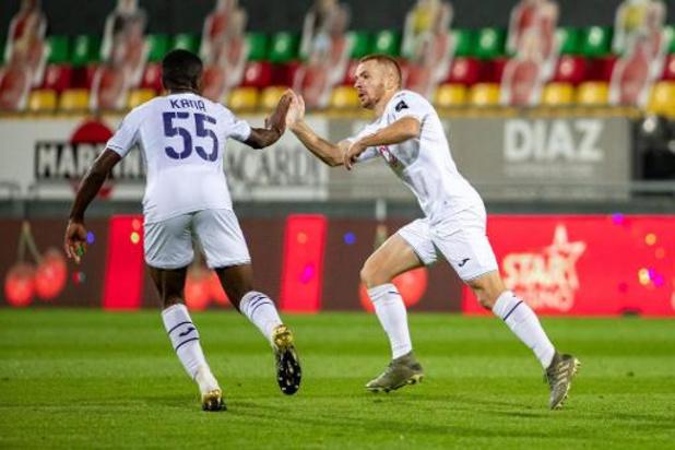Jupiler Pro League - Anderlecht remonte un retard de deux buts à Ostende