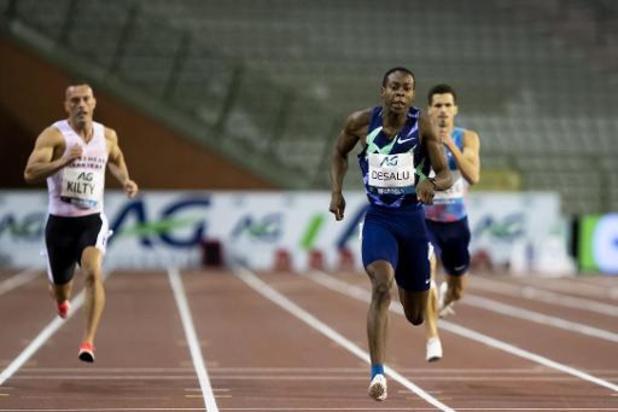 Memorial Van Damme - Julien Watrin 5e et Jonathan Borlée 7e du 200 m remporté par Eseosa Fostine Desalu
