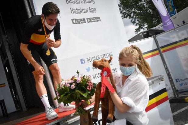 """BK wielrennen - Wout van Aert: """"Driekleur is een van de mooiste truien"""""""