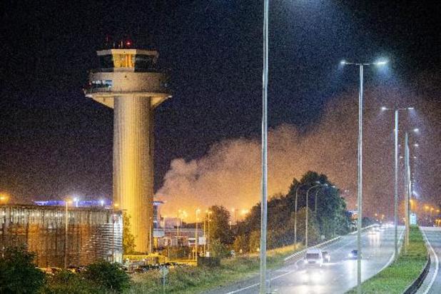 Incendie à Liege Airport - Les dégâts sont importants, mais les vols ont repris normalement
