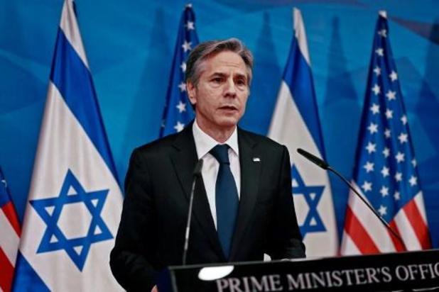 """Blinken veut éviter que l'aide à Gaza """"bénéficie"""" au Hamas"""