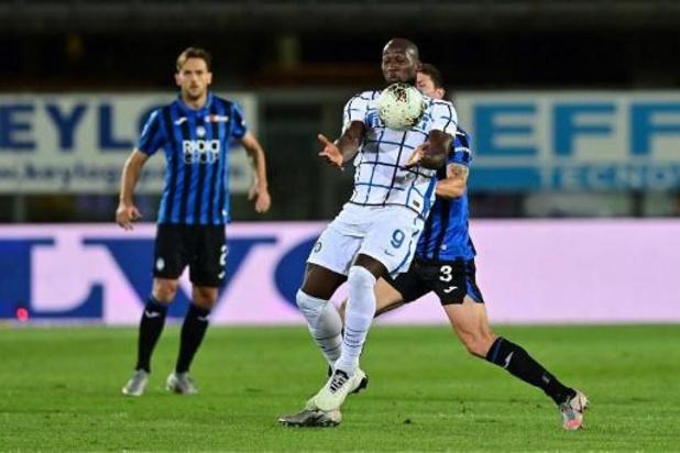 Belgen in het buitenland - Inter (Lukaku) wint strijd met Atalanta (Castagne) om tweede plaats in Serie A