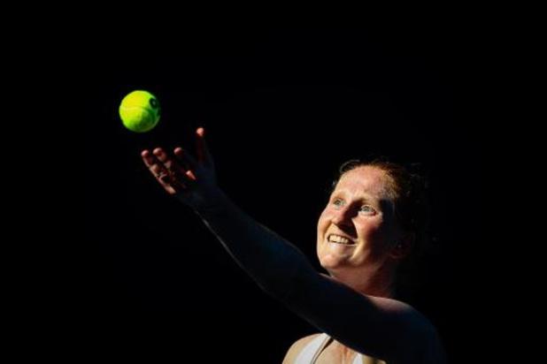 """Alison Van Uytvanck, battue par Putintseva: """"Les conditions étaient difficiles"""""""