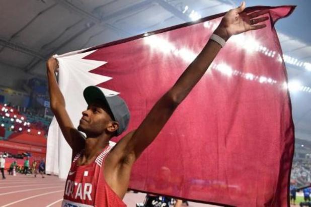 WK atletiek - Qatarees Mutaz Barshim pakt wereldtitel hoogspringen voor eigen publiek