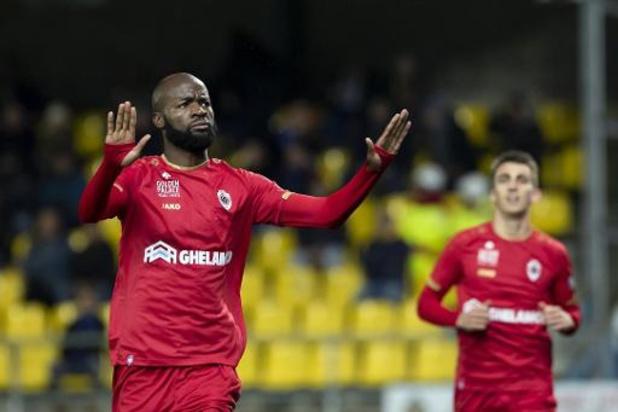 Jupiler Pro league - L'Antwerp s'est promené à Waasland-Beveren (0-4) et se retrouve deuxième