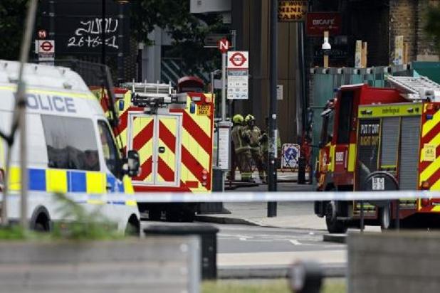 Spectaculaire incendie dans le centre de Londres