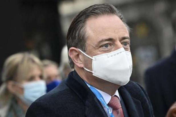 Opnieuw permanente bewaking voor De Wever