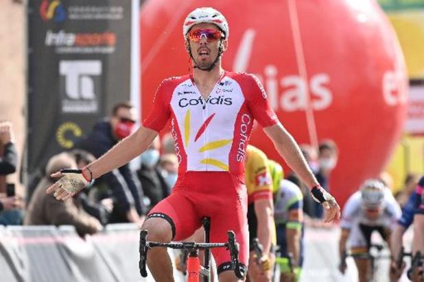 La 1e étape pour Christophe Laporte, Tom Paquot 3e