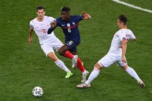 Euro 2020 - La Suisse pousse la France en prolongations