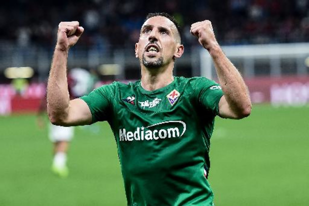 Franck Ribéry tekent bij Salernitana