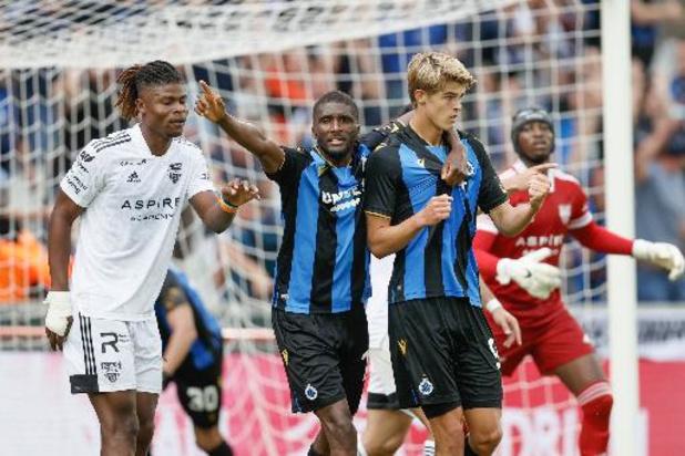 Jupiler Pro League - Le Club de Bruges partage l'enjeu contre Eupen en marquant à la 103e minute de jeu