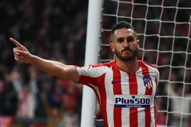Les joueurs de l'Atlético Madrid réduisent de 70% leur salaire