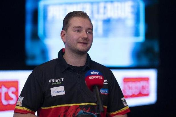"""Dimitri Van den Bergh: """"Trots en blij"""" met eerste titel in Players Championship"""