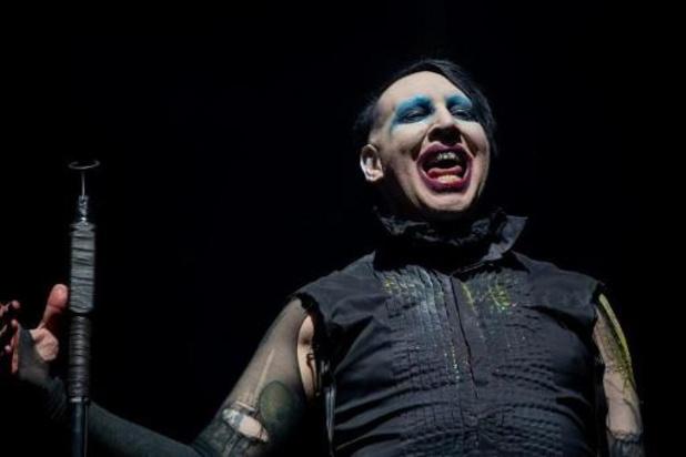 Britse actrice dient klacht in tegen Marilyn Manson voor verkrachting