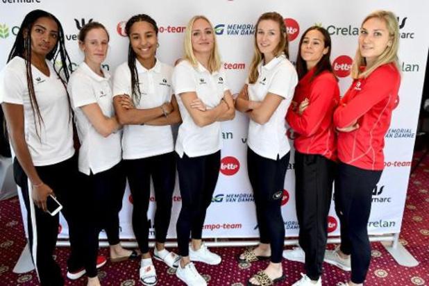 WK atletiek - Belgian Cheetahs pakken met Belgisch record ticket voor finale en Olympische Spelen