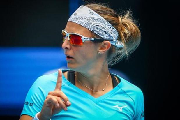 Australian Open - Kirsten Flipkens naar tweede ronde dubbelspel