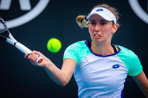 Mertens baant zich een weg naar de derde ronde Australian Open