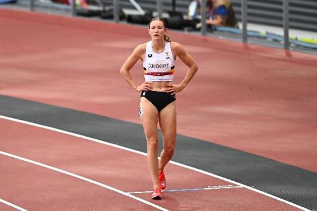 JO 2020 - Paulien Couckuyt en demies du 400 m haies avec un record de Belgique, Hanne Claes éliminée